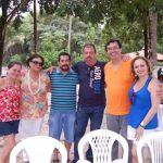 Isabel,Roberto e Sergio e esposa